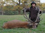 Martin with Red Stag in Czech
